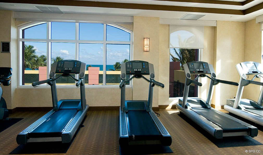 Palms Fitness Center, Luxury Oceanfront Condominiums Located at 2100-2110 N Ocean Blvd, Ft Lauderdale, FL 33305