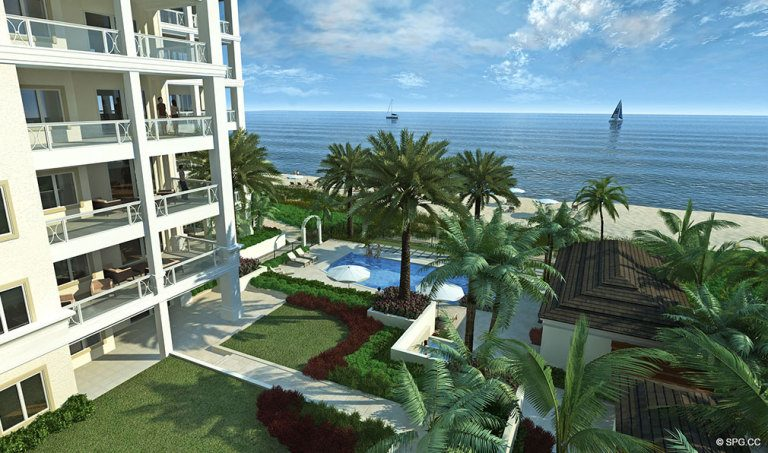 Views from 4001 North Ocean, Luxury Oceanfront Condominiums Located at 4001 North Ocean Boulevard, Gulf Stream, FL 33483