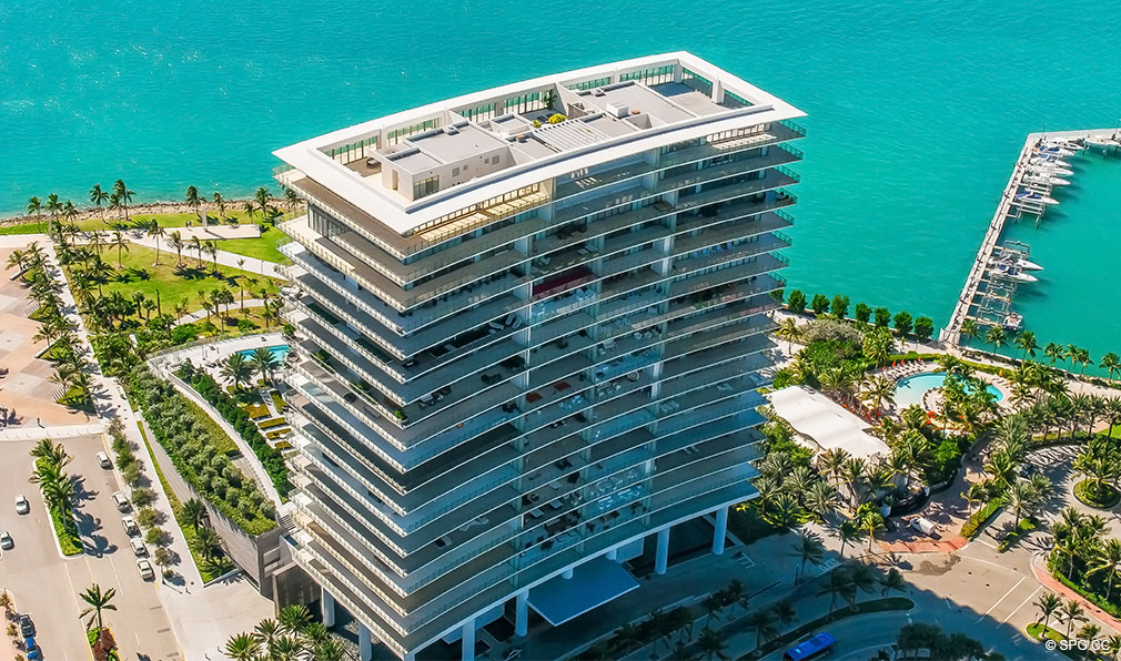 Apogee South Beach, Luxury Waterfront Condominiums Located at 800 South Pointe Dr, Miami Beach, FL 33139