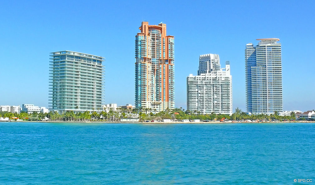 Apogee is Located in South Pointe, Luxury Waterfront Condominiums Located at 800 South Pointe Dr, Miami Beach, FL 33139