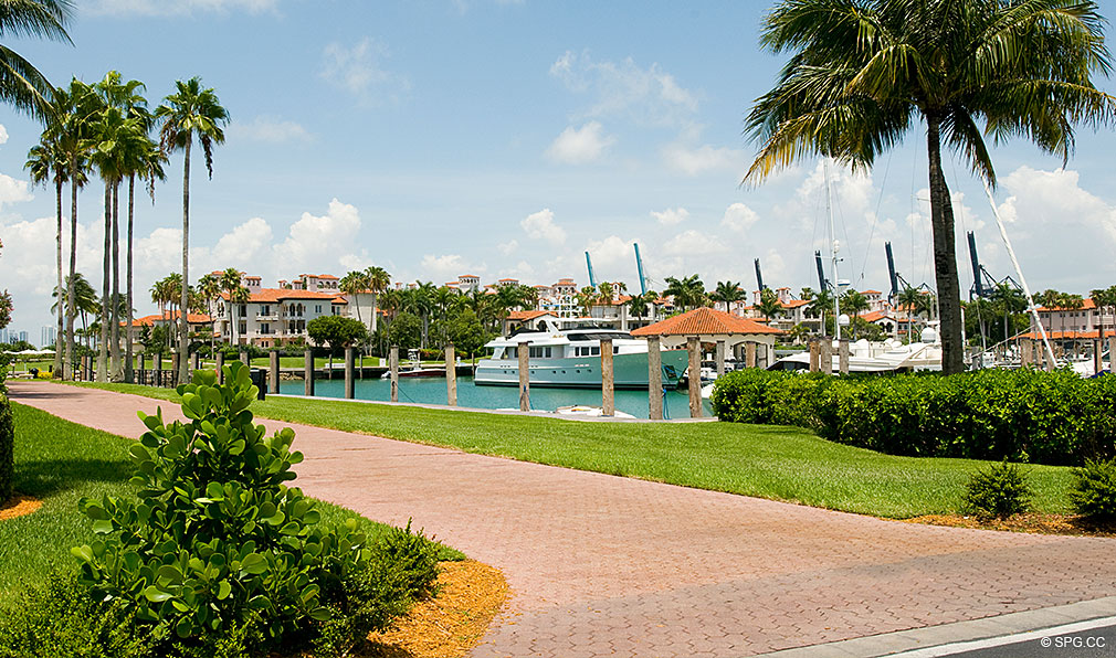 Fisher Island Marina, Luxury Oceanfront Condos Located at One Fisher Island Dr, Fisher Island, FL 33109