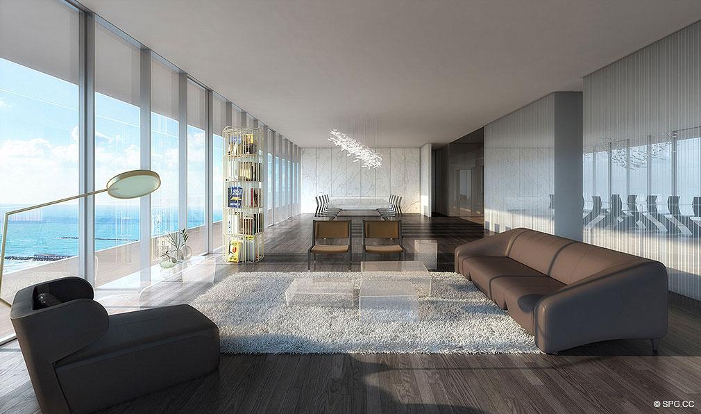 Miami Beach Luxury Condo Living Rooms On En Soleil Condo Rental
