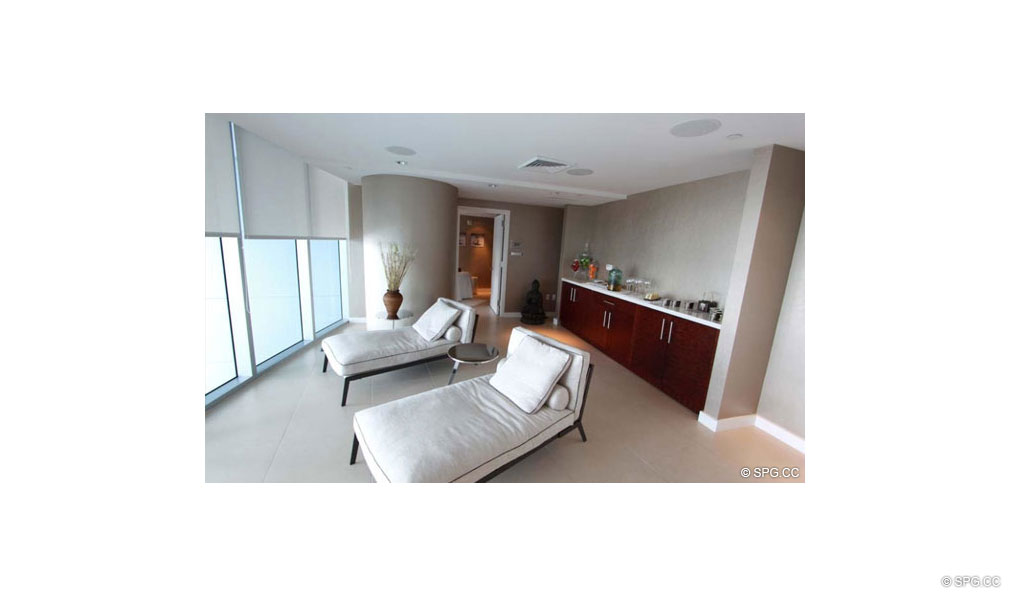 Spa at Jade Beach, Luxury Oceanfront Condominiums Located at 17001 Collins Ave, Sunny Isles Beach, FL 33160