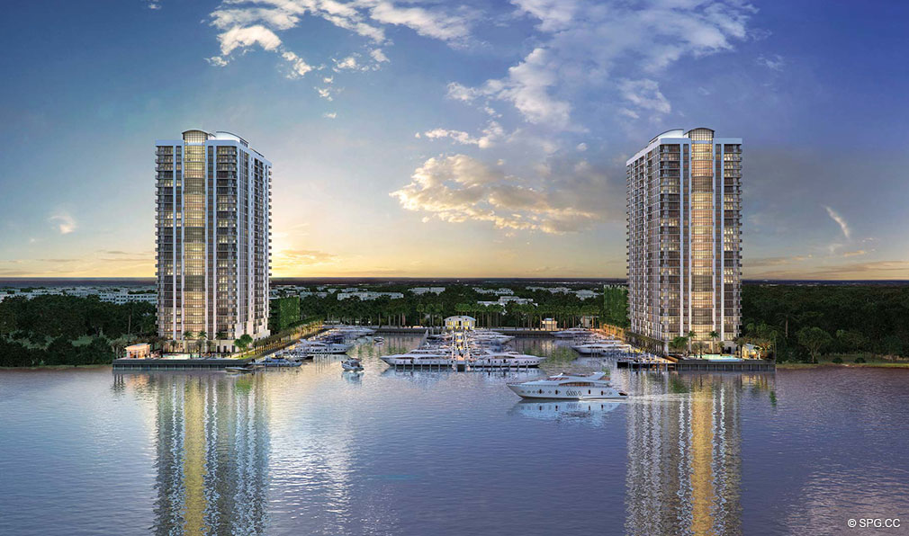 marina palms yacht club luxury waterfront condominiums located at