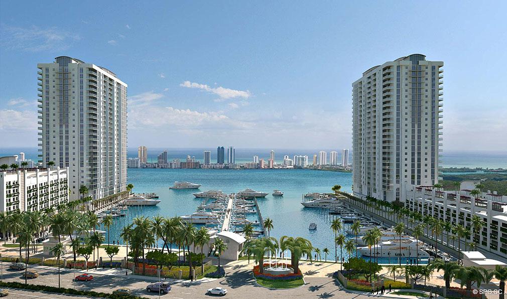 Marina Palms Yacht Club and Condos, New Condos in Miami