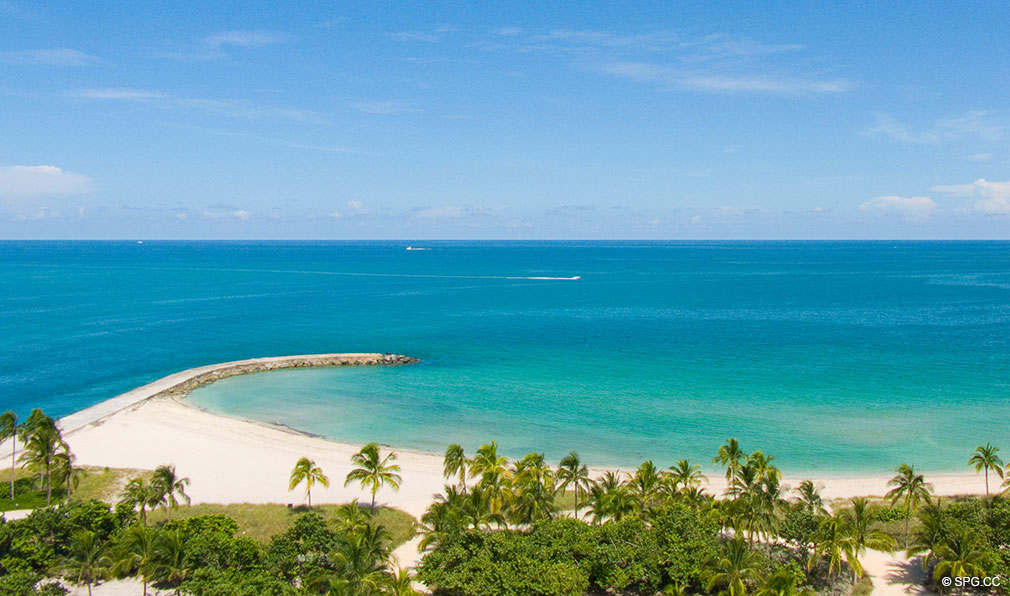 Ocean and Inlet Views at One Bal Harbour, Luxury Oceanfront Condominiums Located at 10295 Collins Ave, Bal Harbour, FL 33154