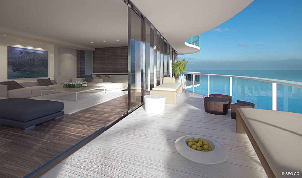 Terrace at Regalia, Luxury Oceanfront Condominiums Located at 19505 Collins Ave, Sunny Isles Beach, FL 33160