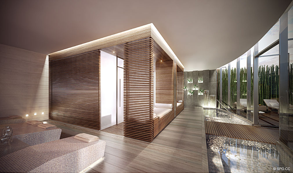 Regalia Spa, Luxury Oceanfront Condominiums Located at 19505 Collins Ave, Sunny Isles Beach, FL 33160