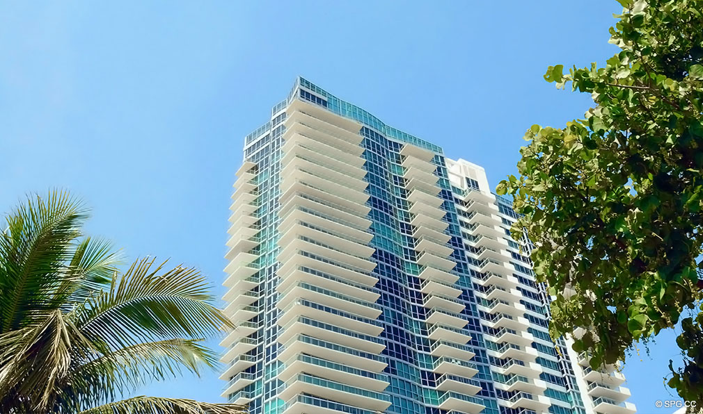 Top of Setai, Luxury Oceanfront Condominiums Located at 101 20th St, Miami Beach, FL 33139