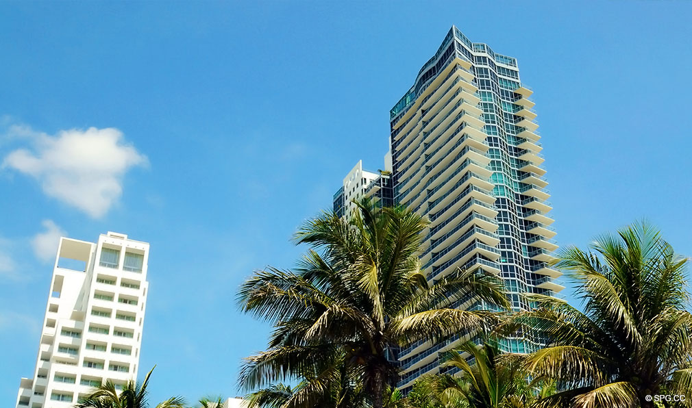 Another View of Setai, Luxury Oceanfront Condominiums Located at 101 20th St, Miami Beach, FL 33139