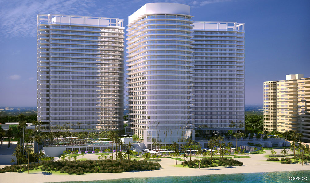 St. Regis Bal Harbour, Luxury Oceanfront Condominium, 9701 Collins Ave, Bal Harbour, Miami Beach, FL 33154