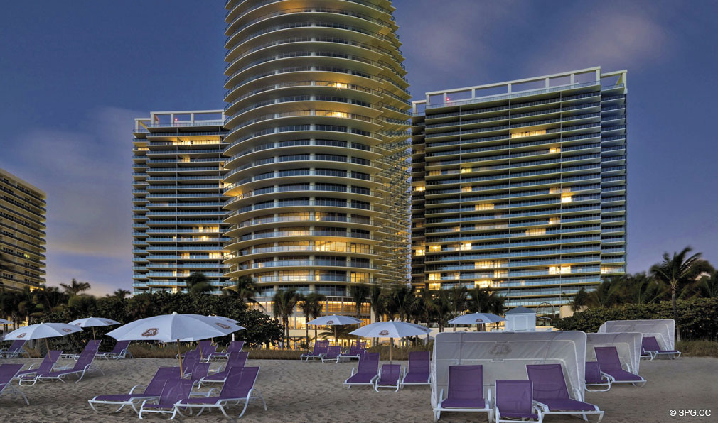 Beachfront at St. Regis Bal Harbour, Luxury Oceanfront Condominium, 9701 Collins Ave, Bal Harbour, FL 33154