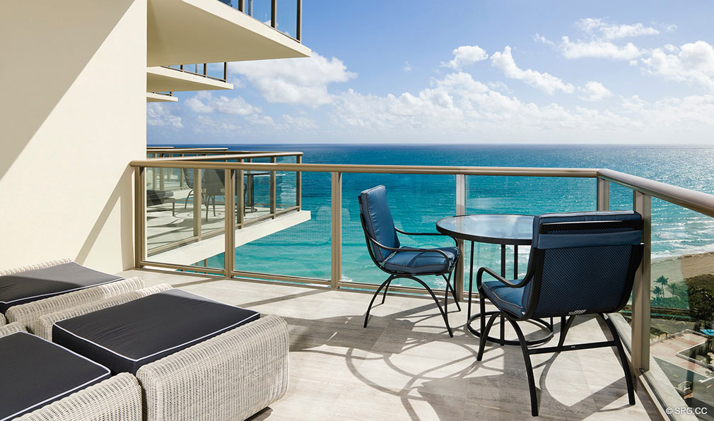 Terrace at St. Regis Bal Harbour, Luxury Oceanfront Condominium, 9701 Collins Ave, Bal Harbour, FL 33154