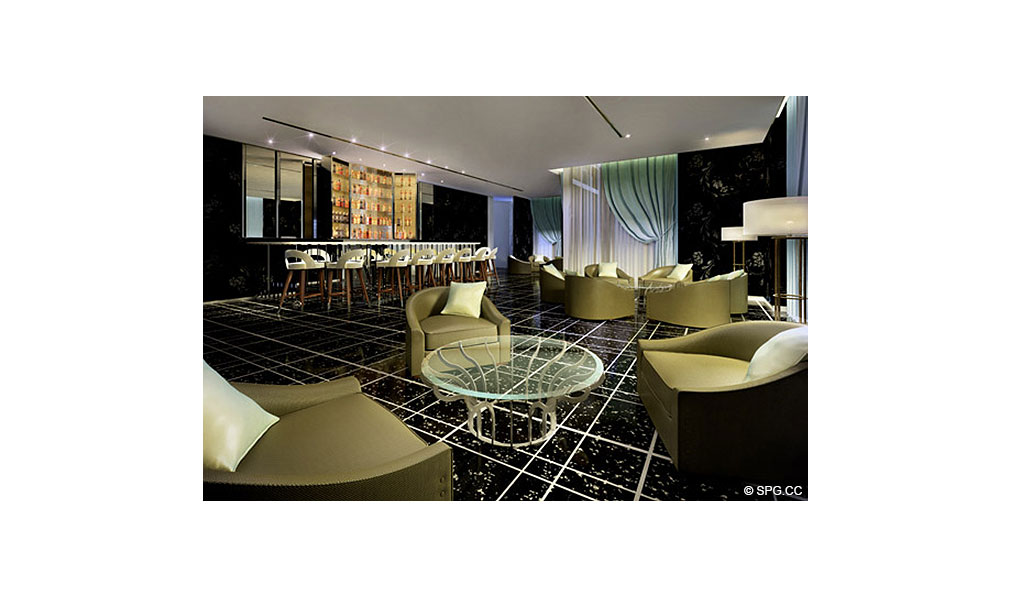 St. Regis Bal Harbour Lounge, Luxury Oceanfront Condominium, 9701 Collins Ave, Bal Harbour, FL 33154