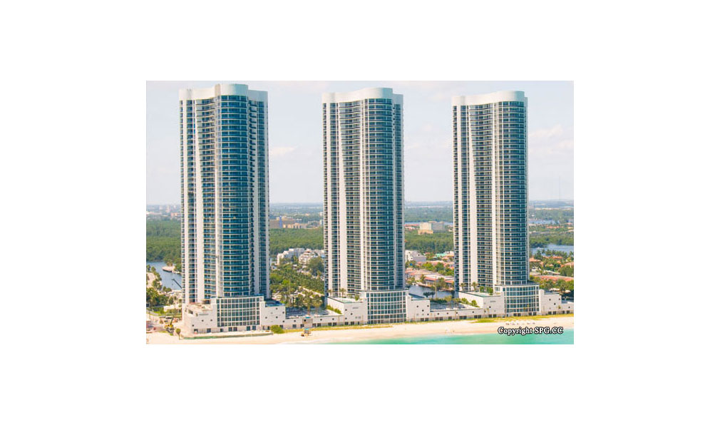 Three Trump Towers, Oceanfront Condominiums Located at 15811-16001 Collins Ave, Sunny Isles Beach, FL 33160