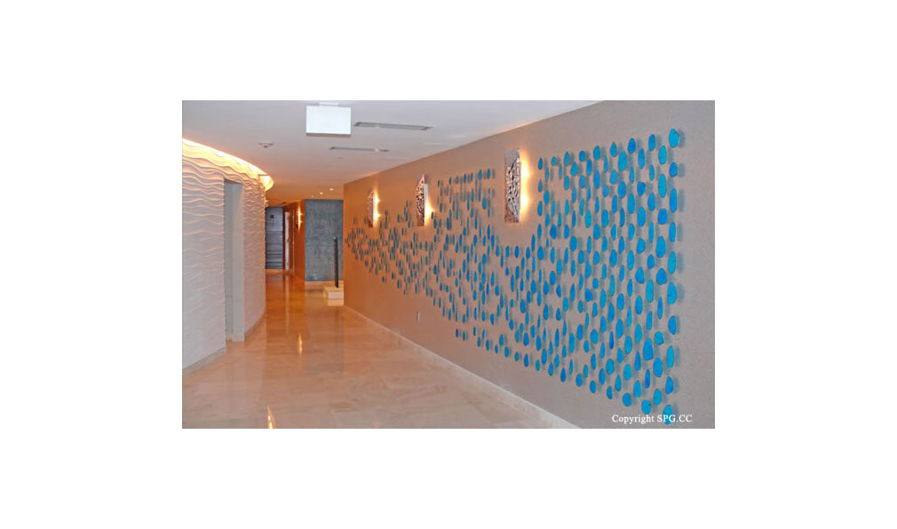 Trump Towers Hallway, Oceanfront Condominiums Located at 15811-16001 Collins Ave, Sunny Isles Beach, FL 33160
