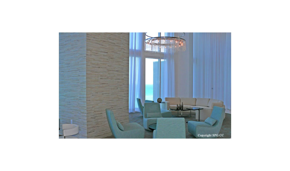 Trump Towers Lounge, Oceanfront Condominiums Located at 15811-16001 Collins Ave, Sunny Isles Beach, FL 33160