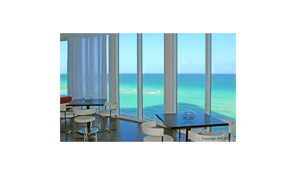 Ocean Views from Trump Towers, Oceanfront Condominiums Located at 15811-16001 Collins Ave, Sunny Isles Beach, FL 33160