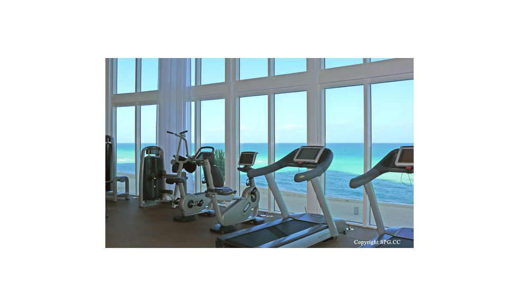 Trump Towers Fitness Center, Oceanfront Condominiums Located at 15811-16001 Collins Ave, Sunny Isles Beach, FL 33160