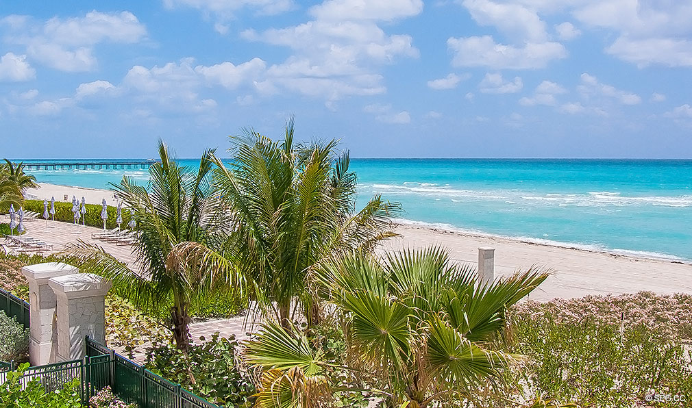 Ocean Views from Turnberry Ocean Colony, Luxury Condominiums Located at 16047-16051 Collins Ave, Sunny Isles Beach, FL 33160