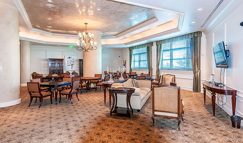 Turnberry Ocean Colony Club Room, Luxury Condominiums Located at 16047-16051 Collins Ave, Sunny Isles Beach, FL 33160