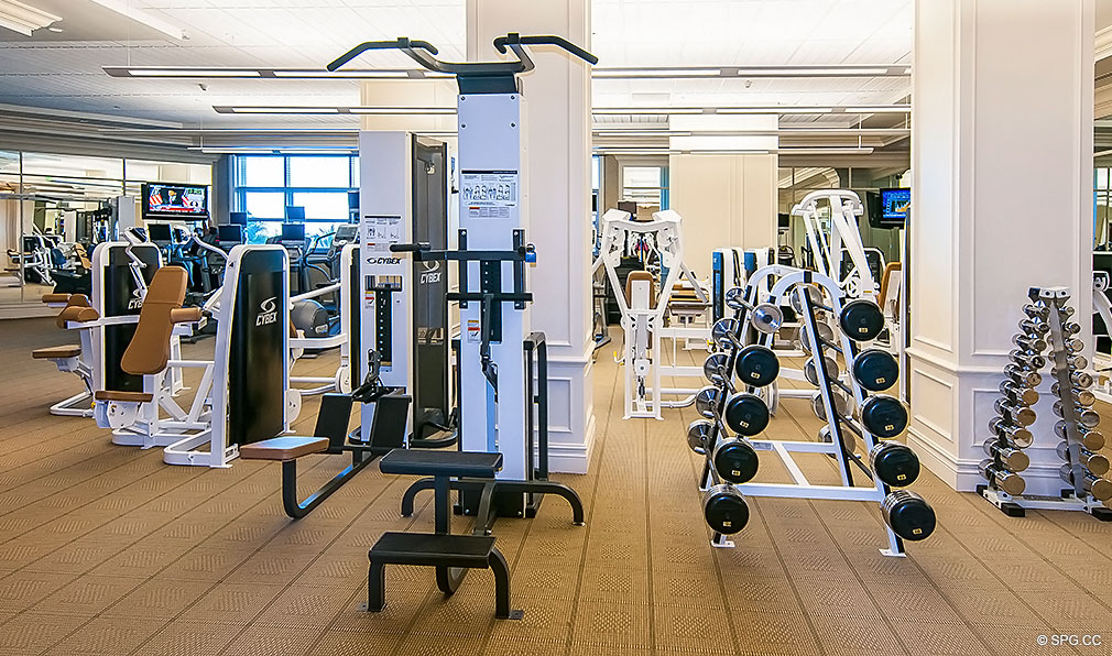 Turnberry Ocean Colony Fitness Center, Luxury Condominiums Located at 16047-16051 Collins Ave, Sunny Isles Beach, FL 33160